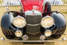 一辆经典1933年Avon S1减速火箭的葡萄酒汽车 免版税库存图片