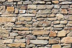 一部分的一个石墙, 库存图片