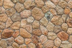 一部分的一个石墙 免版税库存图片