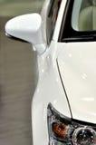 一部分的一个空白轿车 免版税库存照片