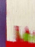 一部分的一张大五颜六色的街道街道画 库存图片