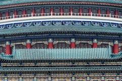 一部分的中国建筑学 免版税库存照片