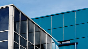 一部分的办公楼 免版税图库摄影