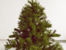一部分的圣诞树3d 免版税库存照片