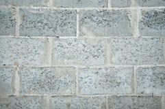一部分的在工地工作的石造壁 免版税库存图片