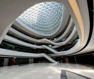 一部分的在星系苏荷区,北京的内部空间 免版税图库摄影