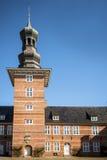 一部分的城堡在Husum 免版税图库摄影