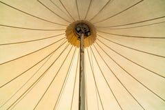 一部分的大帐篷 库存图片