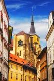 一部分的布拉格老镇 库存图片