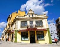 一部分的康斯坦察,罗马尼亚老镇  免版税图库摄影