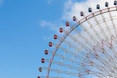 一部分的弗累斯大转轮游乐园 免版税库存图片
