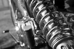 一部分的摩托车 免版税库存照片