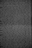 一部分的有军人被杀死或战斗中失踪的名字的越南纪念墙壁 免版税库存照片