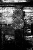 一部分的木土气房子 幻想艺术处理照片fo 免版税库存图片