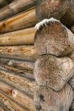 一部分的木屋 免版税库存照片