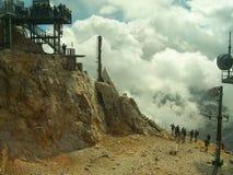 一部分的楚格峰 免版税库存照片