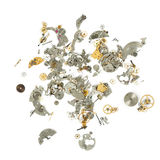 一部分的残破的手表 免版税库存图片
