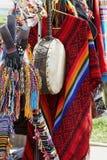一部分的民族服装的元素 库存照片