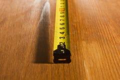 一部分的测量的轮盘赌 库存照片