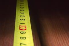 一部分的测量的轮盘赌 免版税库存照片