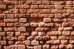 一部分的砖墙 免版税库存图片