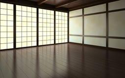 一部分的空的屋子 向量例证