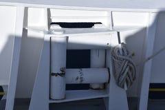 一部分的船 免版税库存照片