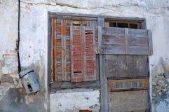 一部分的被放弃的议院 库存图片