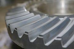 一部分的金属齿轮 免版税图库摄影