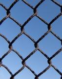 一部分的金属滤网 免版税库存照片