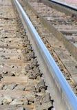 一部分的铁轨 库存图片