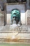 一部分的阿尔勒方尖碑, Place de la RA©publiquee,法国 库存图片