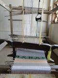 一部分的织布机在琅勃拉邦 免版税库存图片