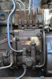 一部分的柴油引擎 免版税库存图片
