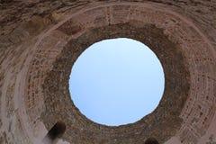 一部分的diocletian ` s宫殿 库存图片