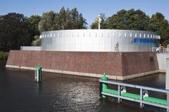 一部分的Groninger博物馆在荷兰 图库摄影