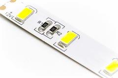 一部分的LED小条 免版税库存图片