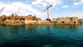 一部分的Spinola海湾的格兰特港口 股票录像
