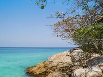 一部分的Tachai海岛 免版税库存图片