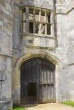 一部分的the13th世纪Titchfield的,费勒姆托特Titchfield修道院古老废墟在汉普郡在S的新的森林里 库存照片