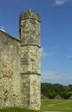 一部分的the13th世纪Titchfield的,费勒姆托特Titchfield修道院古老废墟在汉普郡在S的新的森林里 免版税库存照片