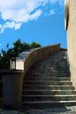 一部螺旋形楼梯的Picutre 免版税库存照片