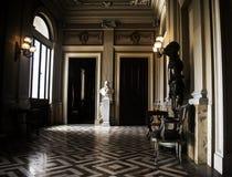 一间巴洛克式的18世纪屋子 免版税库存照片