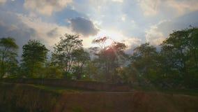 一顿野餐的可爱的晴天在瓜亚基尔 免版税库存照片