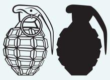一颗手工手榴弹的图象 库存图片