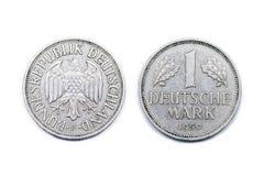 一马克德国1950年 免版税库存照片