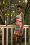 一,年轻成人,黑人非裔美国人的愉快的微笑的妇女20- 库存图片
