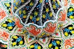 一件传统东方装饰品的详细的图象在土耳其por的 免版税库存照片