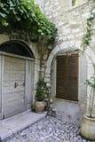 一间偏僻的凹室在意大利 免版税图库摄影