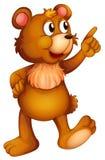 一头快乐的熊 库存照片